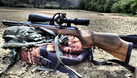 Quiet air rifle backyard neighborhood