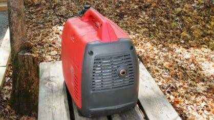 make your generator quiet cricket