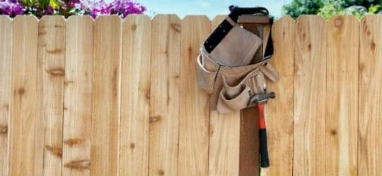 mass loaded vinyl fence