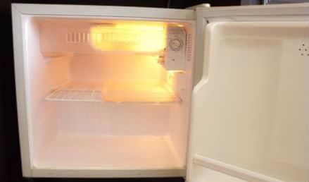 quietest small refrigerator