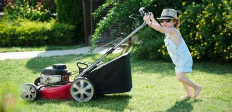 Silent Gas Electric Lawn Mowers