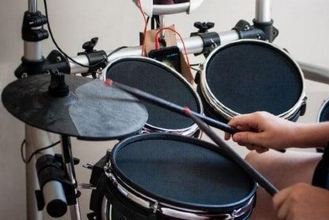 best silent practice drum kit