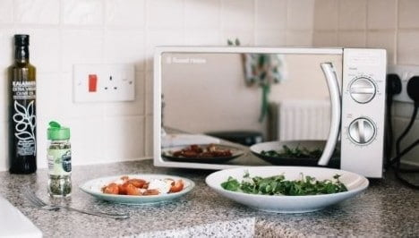 silent Microwave oven